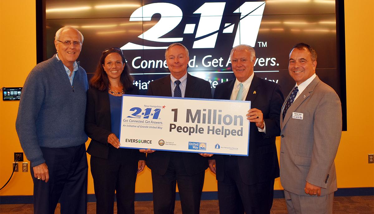211 1 million people helped